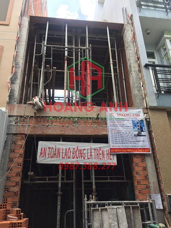 bảng báo giá xây nhà phần thô 11
