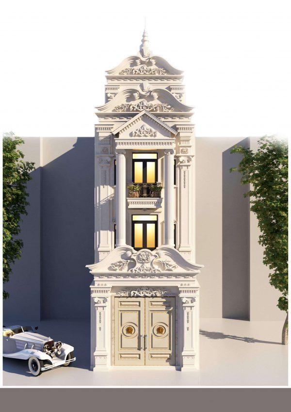 Dịch vụ thiết kế nhà phố của Xây dựng Hoàng Anh