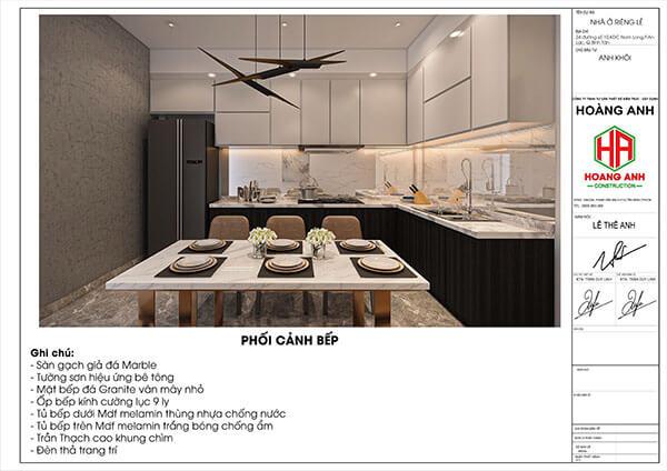 bảng báo giá xây nhà trọn gói 2021'