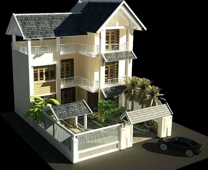 mẫu thiết kế nhà đẹp 3