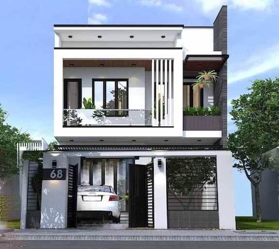 mẫu thiết kế nhà đẹp 5